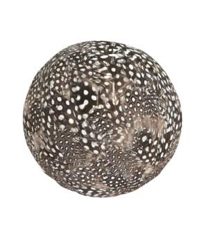 Guinea Hen Feather Ball, Sm
