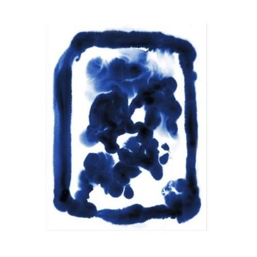 20x26 Porcelain III, Glass Framed