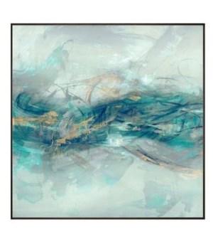36x36 Spinning I, Hand Embellishment, Frame 36P1705