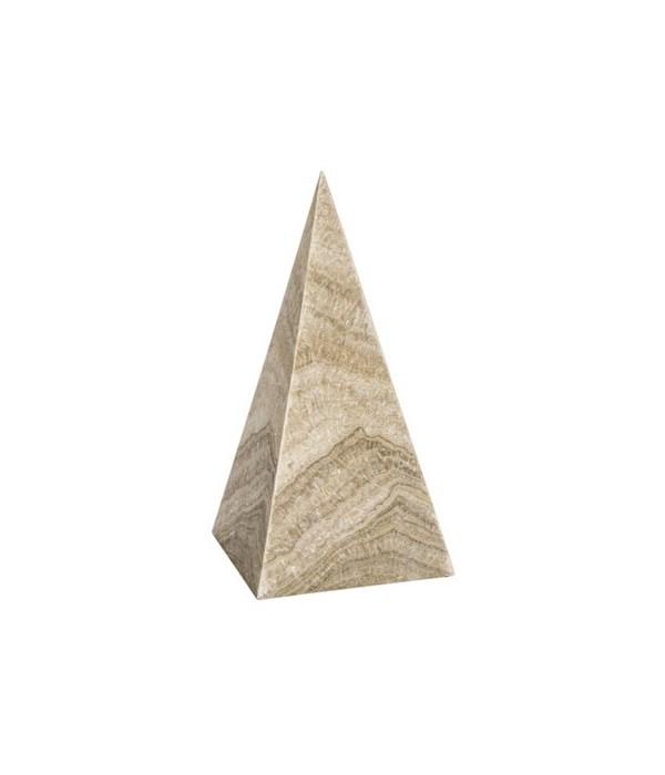 Pyramid, White Marble