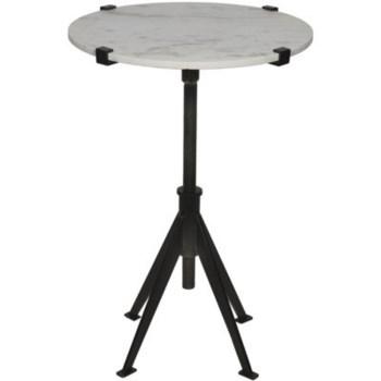 Edith Adjustable Side Table, Small