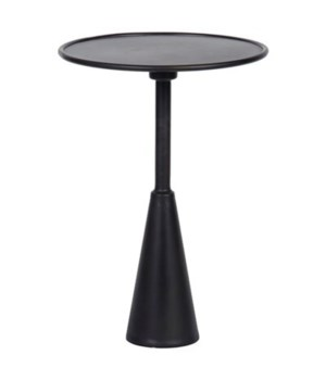 Hiro Side Table, Black Metal
