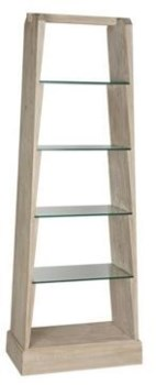 RL Sandor Bookcase, Grey Wash