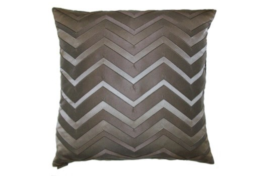Bliss Square Taupe Pillow