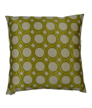 Belle Curve Square Citrine Pillow