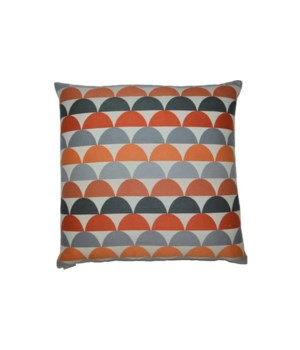 Kehoe Square Orange Pillow