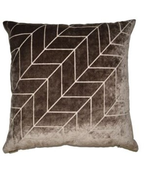 Villa Square Mocha Pillow