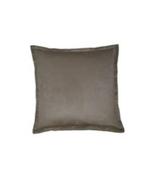 Belvedere Flange Square Linen Pillow