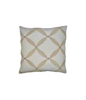 Windward Square Ivory Pillow