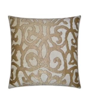Basileus Square Gold Pillow