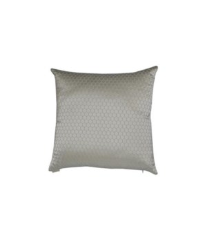 Ariel Square Ivory Pillow