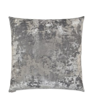 Miranda Square Silver Pillow