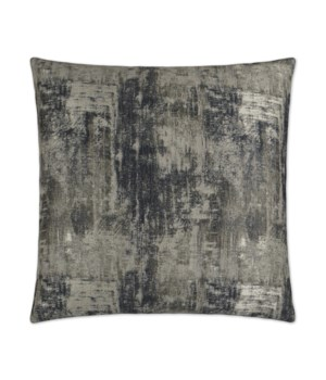 Bridger Square Pewter Pillow