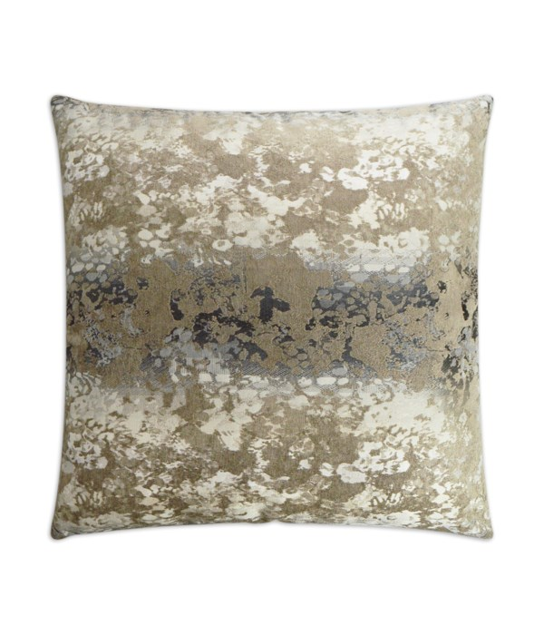Isotope Square Cocoa Pillow