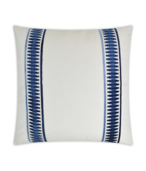Antibes Square Blue Pillow
