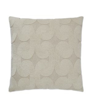 Posh Den Square Natural Pillow