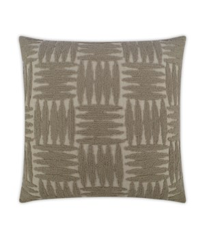 Focus Group Square Taupe Pillow
