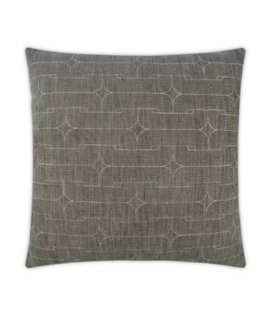 Unchained Square Grey Pillow