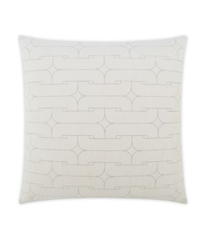 Unchained Square Ivory Pillow
