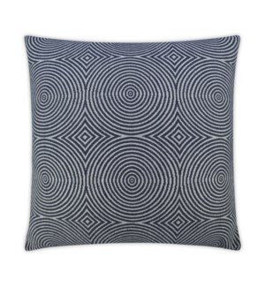 Transform Square Indigo Pillow