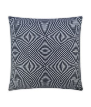 Transform Square Indigo Pillow