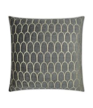 Cristanta Square Graphite Pillow