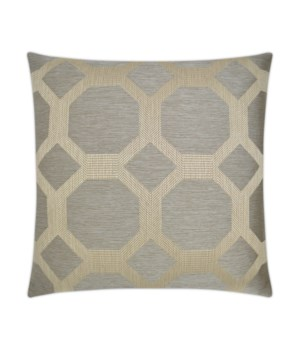 Statler Square Taupe Pillow