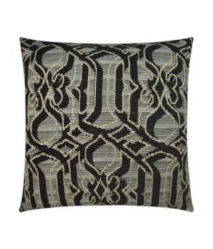 Sesto Square Black Pillow