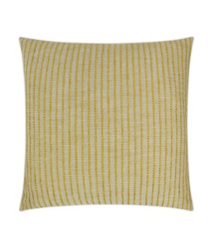 Demetria Square Yellow Pillow