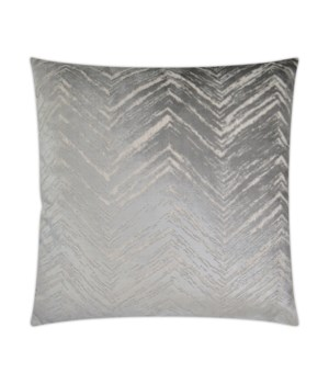 Zermatt Square Silver Pillow