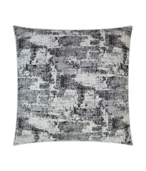 Textural Square Charcoal Pillow