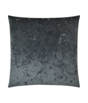 A La Mode Square Charcoal Pillow