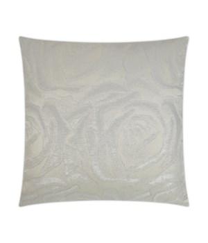 Sparkle Square Ivory Pillow