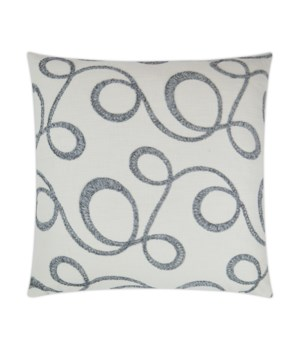Okeefe Square Slate Pillow