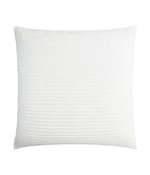 Pleatte Square Coconut Pillow