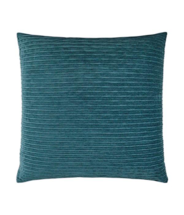 Pleatte Square Peacock Pillow