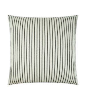 Ticking Square Natural Pillow