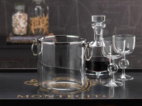 Montecito Ice Bucket with Ring Handles