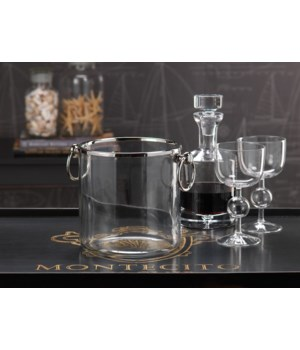 Montecito Ice Bucket with Ring Handles