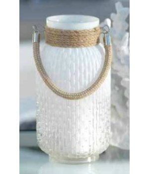 Naples Glass & Rope Lantern