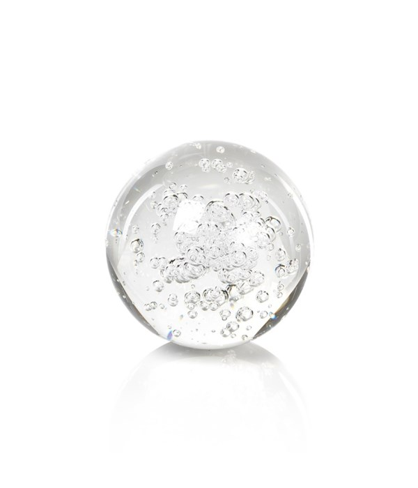 Crystal Fill Ball with Bubbles, Small