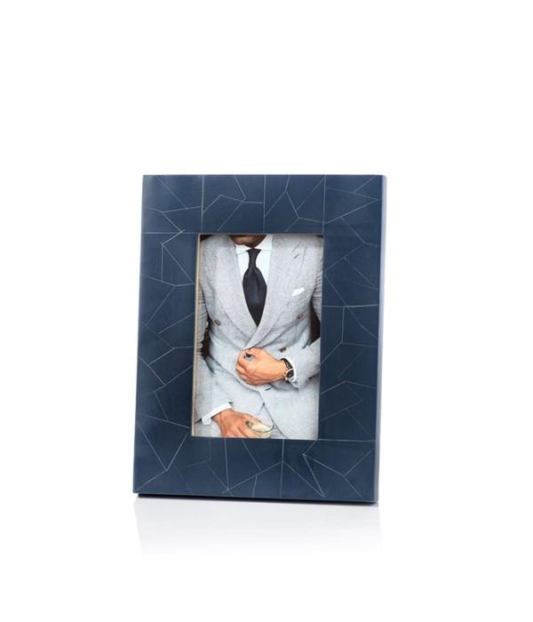 Abstract Inlay Photo Frame