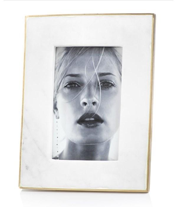 Marmo Marble Photo Frame, 4x6