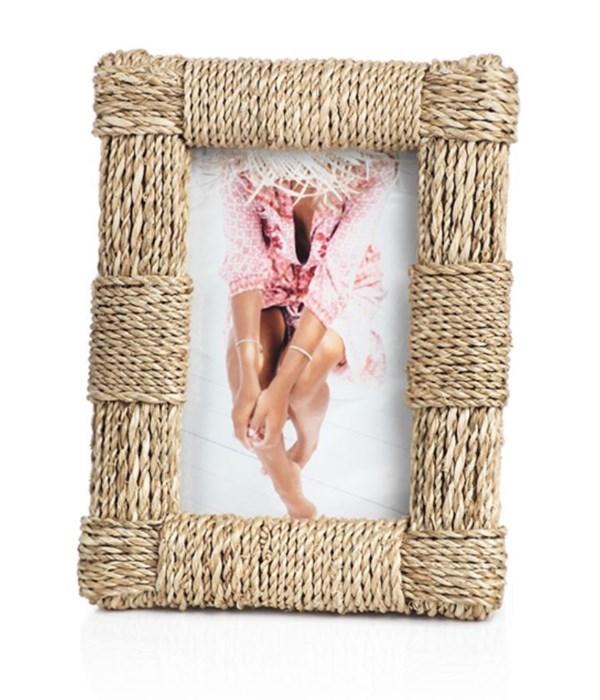 Abaca Rope Photo Frame