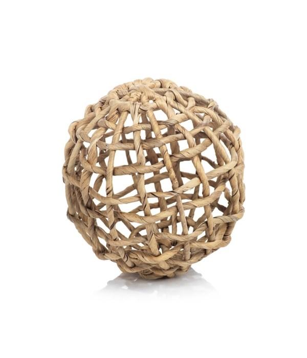 Water Hyacinth Twisted Fill Ball, Large