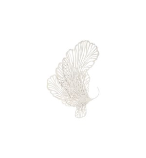 Butterfly Wall Art White, Small