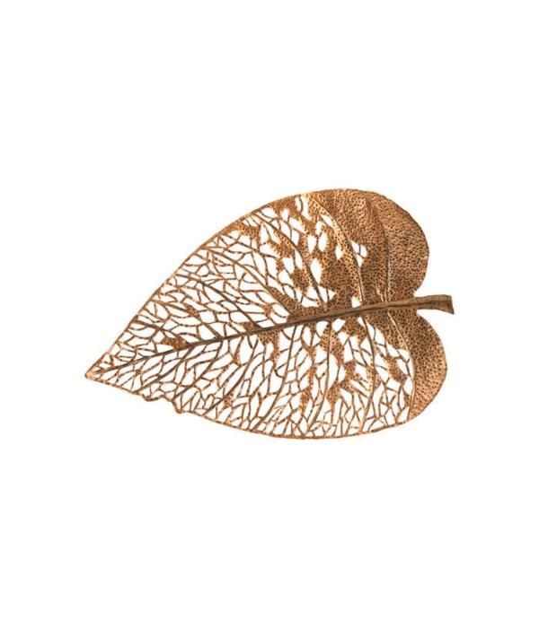 Birch Leaf Wall Art Copper,  Medium