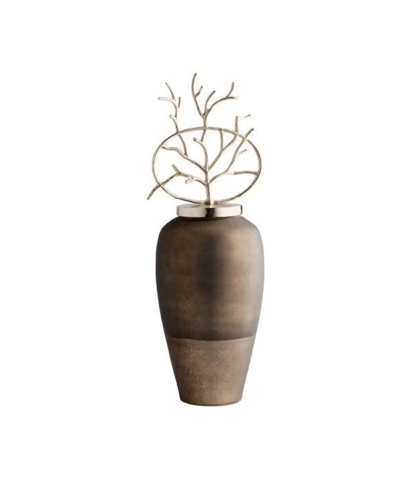 Round Viewleaf Sculpture