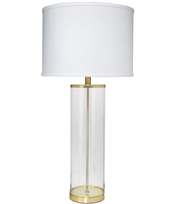 Rockefeller Brass Table Lamp