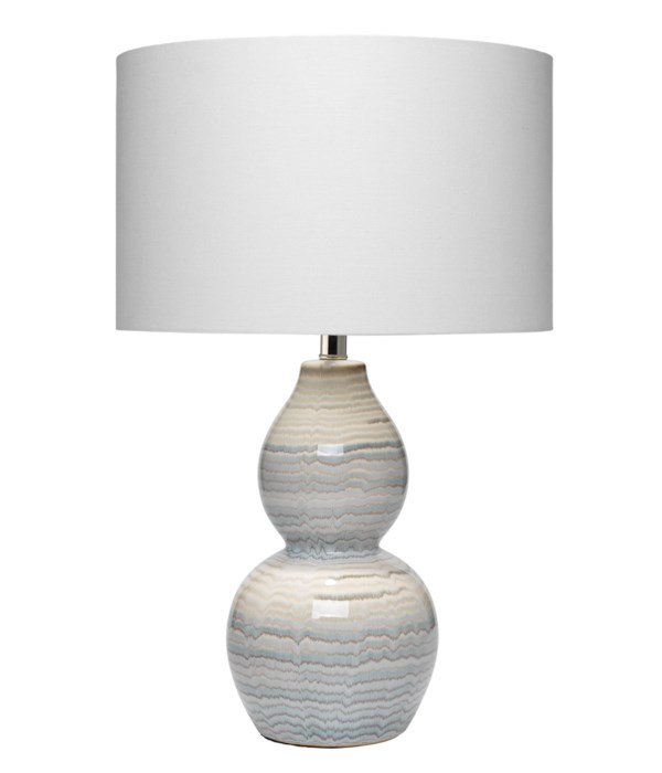 Catalina Wave Table Lamp